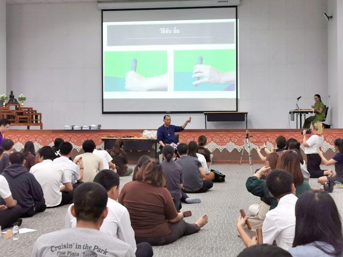 ソンポン先生のトクセン特別講義 in ラジャマンガラ工科大学